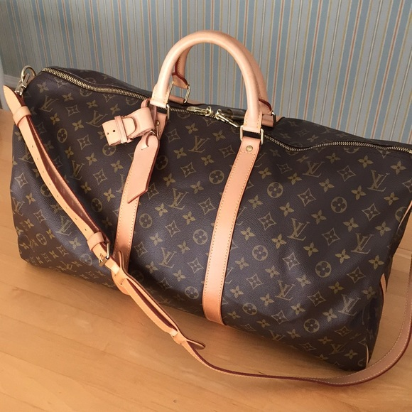 37b2586dcdd3 Louis Vuitton Handbags - LV Keepall 55